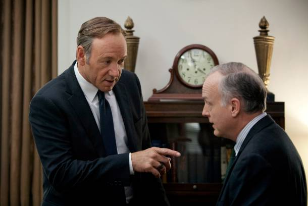 """Kevin Spacey as Frank Underwood in """"House of Cards"""""""