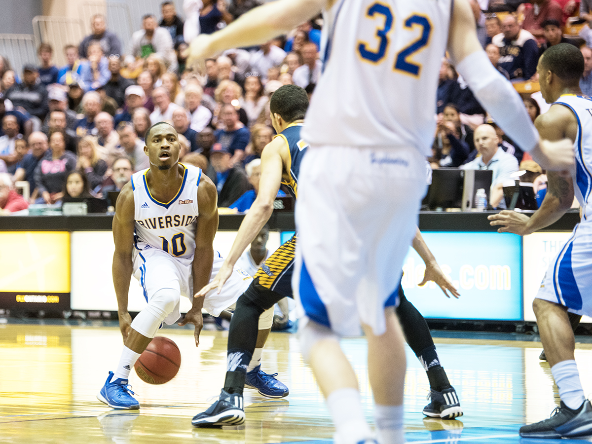 UCR men's basketball falls in final two games of regular ...