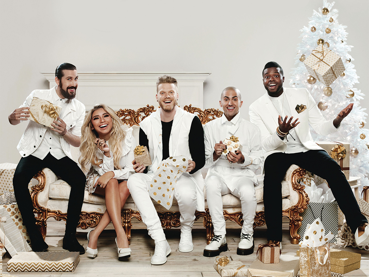 acapella group pentatonix brings back the christmas spirit highlander