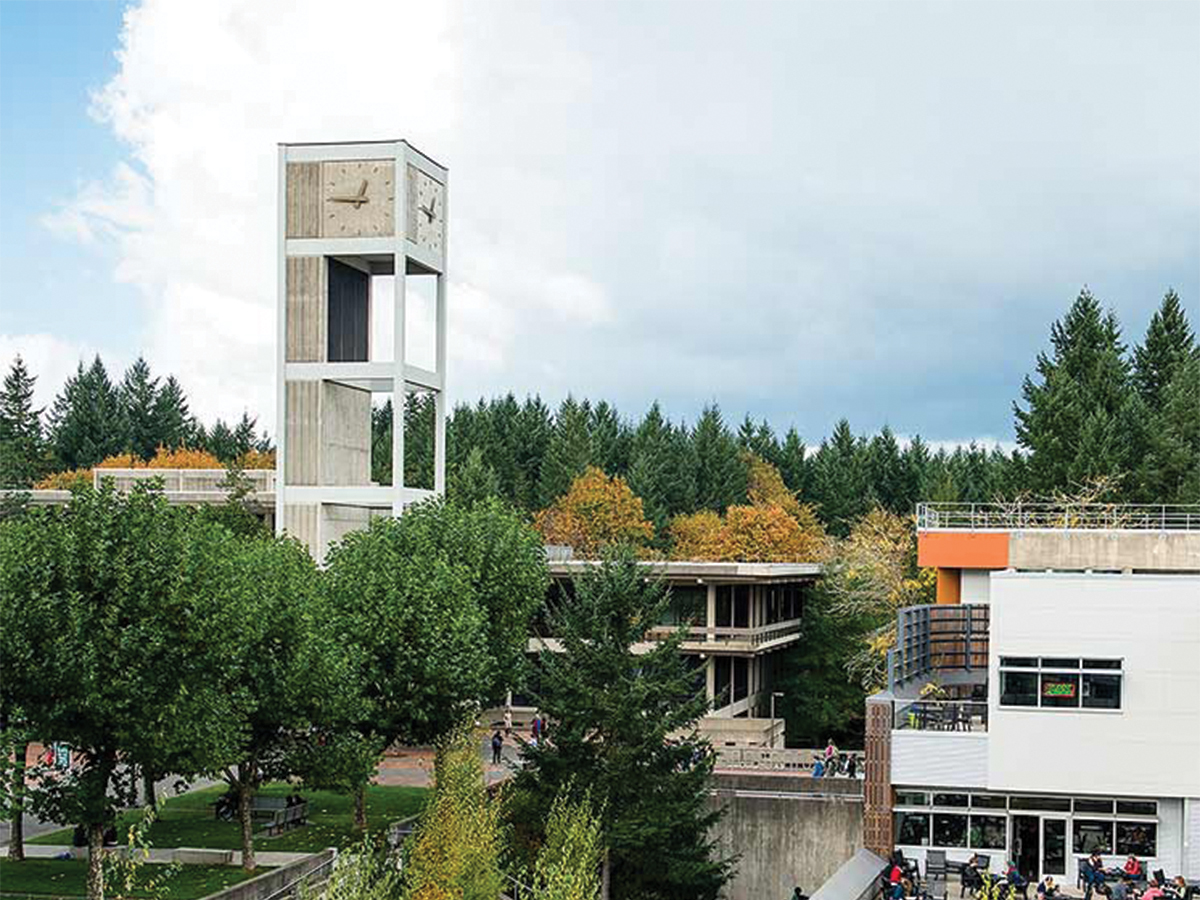evergreen state college senior thesis Evergreen is a famously liberal school the protests there, like those at other colleges, didn't involve a majority of students they were informed by more than weinstein's words, including.